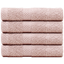 Reid Turkish Cotton Bathroom Towels (Set of 4)
