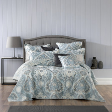 Blue Braidwood Bedspread Set