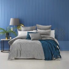 Silver Buxton Quilt Cover Set