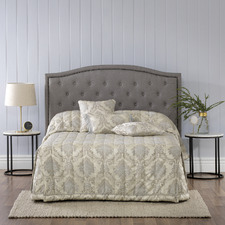 Taupe Dorset Fitted Bedspread