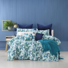 Blue Flinders Cotton Quilt Cover Set