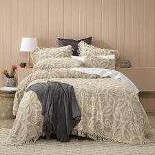 Taupe Sheba Bedspread Set