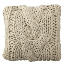 Stone Ainsley Knitted Cushion