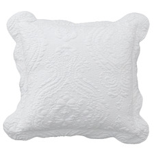 White Cordelia Cushion