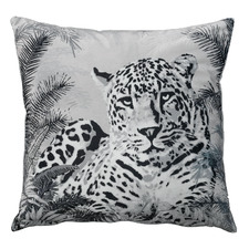 Black Leopard Coordinate Cushion