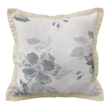 Grey Rosetta Coordinate Cushion