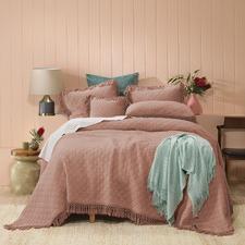 Blush Keira Cotton Coverlet Set