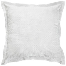 White Colca Cotton Waffle Cushion