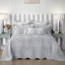 Grey Florence Bedspread Set