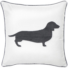 Dachshund Velvet Cushion