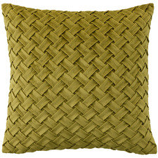 Basket Weave Venice Velvet Cushion