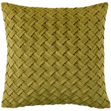 Basket Weave Venice Velvet Cushion