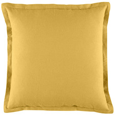 Gold Wellington Linen & Cotton Cushion
