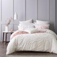 Maisha Cotton Chenille Quilt Cover Set