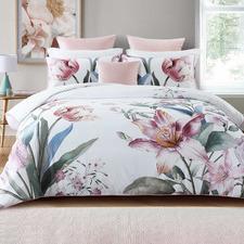 Fiorella Cotton Sateen Quilt Cover Set