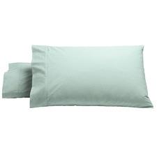 Heston 300TC Cotton Percale Pillowcase (Set of 2)
