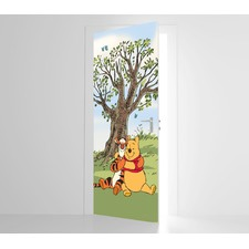 Winnie the Pooh Two Friends Door Mural