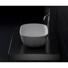 Vizzini Alberta Above Counter Stone Basin 560mm x 320mm x 155mm