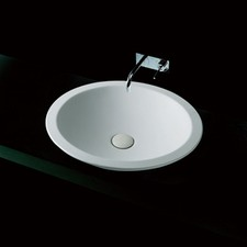 Vizzini Circo Above Counter Stone Basin 500mm x 500mm x 105mm