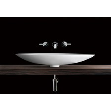 Vizzini Overton Above Counter Stone Basin 630mm x 375mm x 100mm