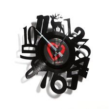 Numbers #10 Vinyl Wall Clock