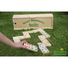 Giant Wooden Garden Dominoes