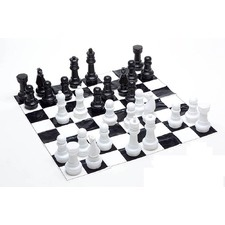 30cm (12 Inch) Plastic Chess Set
