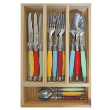 Coloured in Cutlery Tray