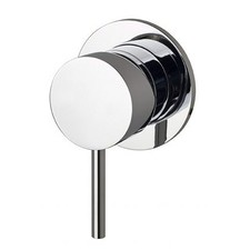 Bath Mixer Tap with Wall Plate