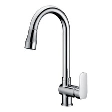 Kitchen Sink Mixer Tap with Pull Out Extendable Spray