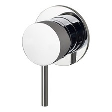Round Wall Mixer for Shower or Bath