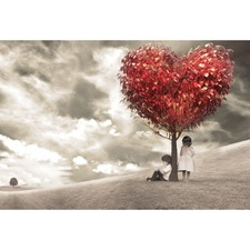 The Heart Tree Canvas