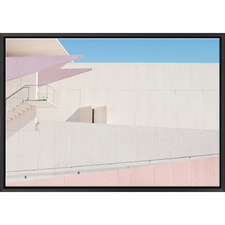 LA Building Blush Print