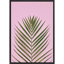 Golden Cane Palm Print
