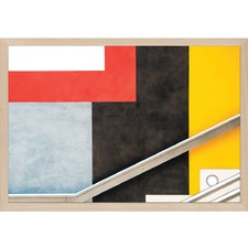 Colour Block Wall Art by Linda Wride