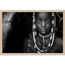 Mursi Girl by Hesham Alhumaid
