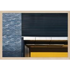 Yellow Shutter Wall Art by Linda Wride