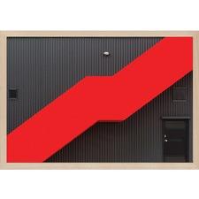 Red Stairs by Jan Niezen