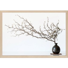 Vase and Branch Wall Art