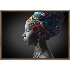 African Pose Printed Wall Art
