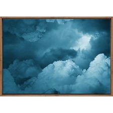 Moody Storm Clouds Printed Wall Art