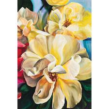 Yellow Roses Canvas Wall Art
