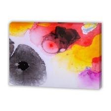 Shani Pink Resin 3 Canvas Wall Art