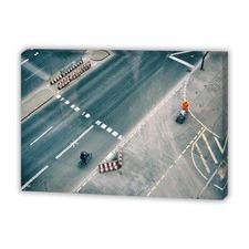 Light Traffic Canvas Wall Art