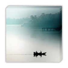 Sunrise on the Nile Canvas Wall Art