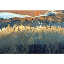 California Aerial Canvas Wall Art