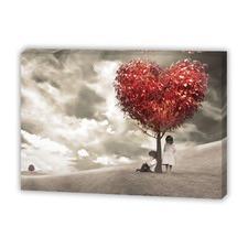 The Heart Tree Canvas