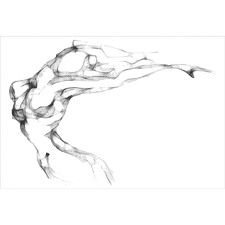 Nude Flair Canvas Wall Art