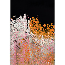 Pink Effervescent Canvas Wall Art