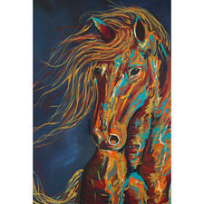 As Wild As The Night Canvas Wall Art